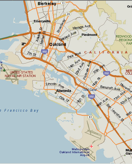 [East Bay Map]